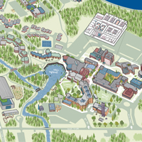 Map of Thunder Bay Campus